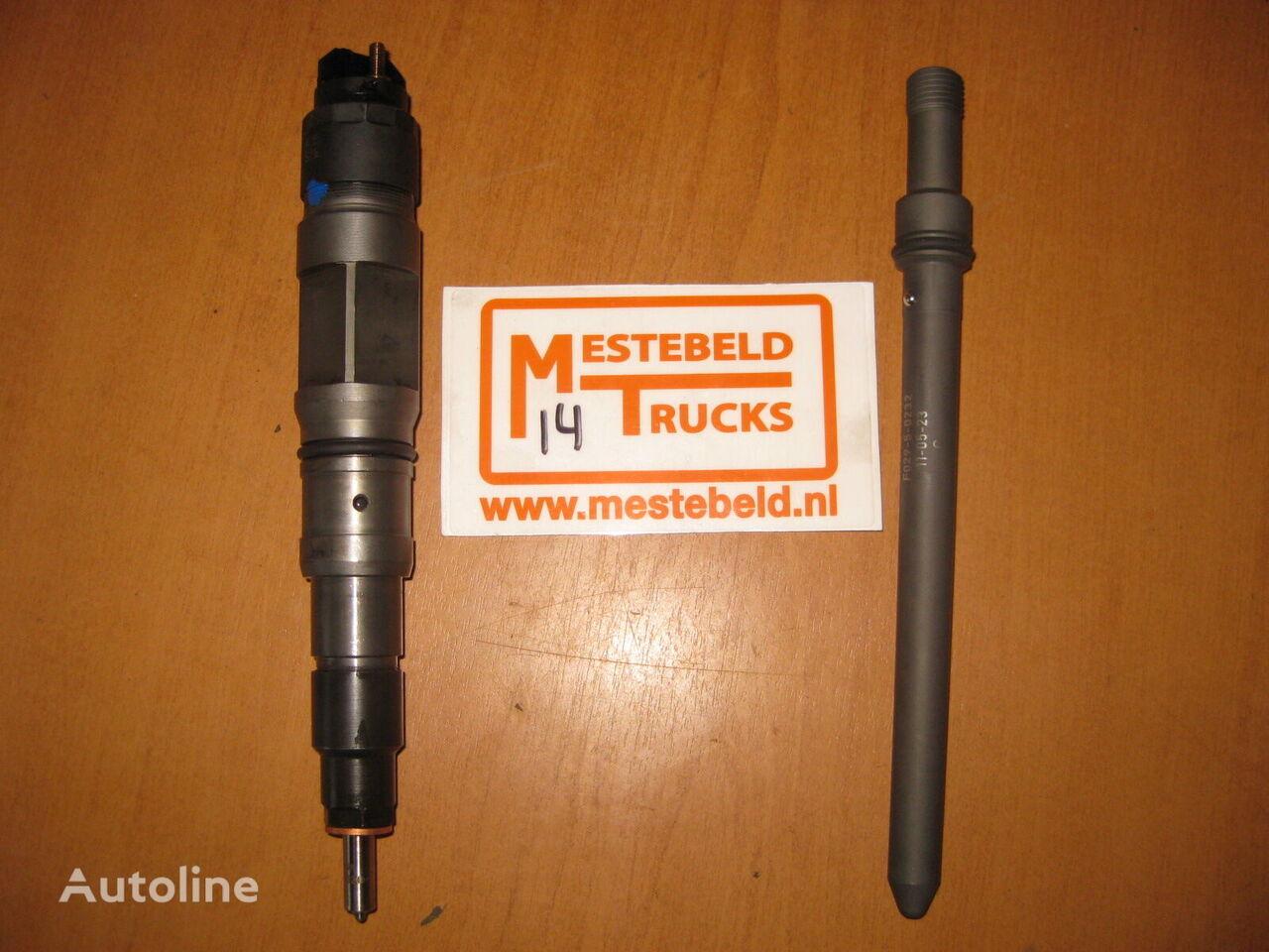 MAN Verstuiver + drukbuiskoppeling inyector para MAN camión