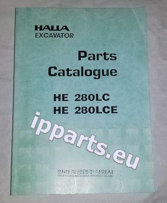 HALLA parts book katalog czesci parts manual teile IPPARTS manual de instrucciones para HALLA  220 Halla 280 Halla 360 excavadora nuevo