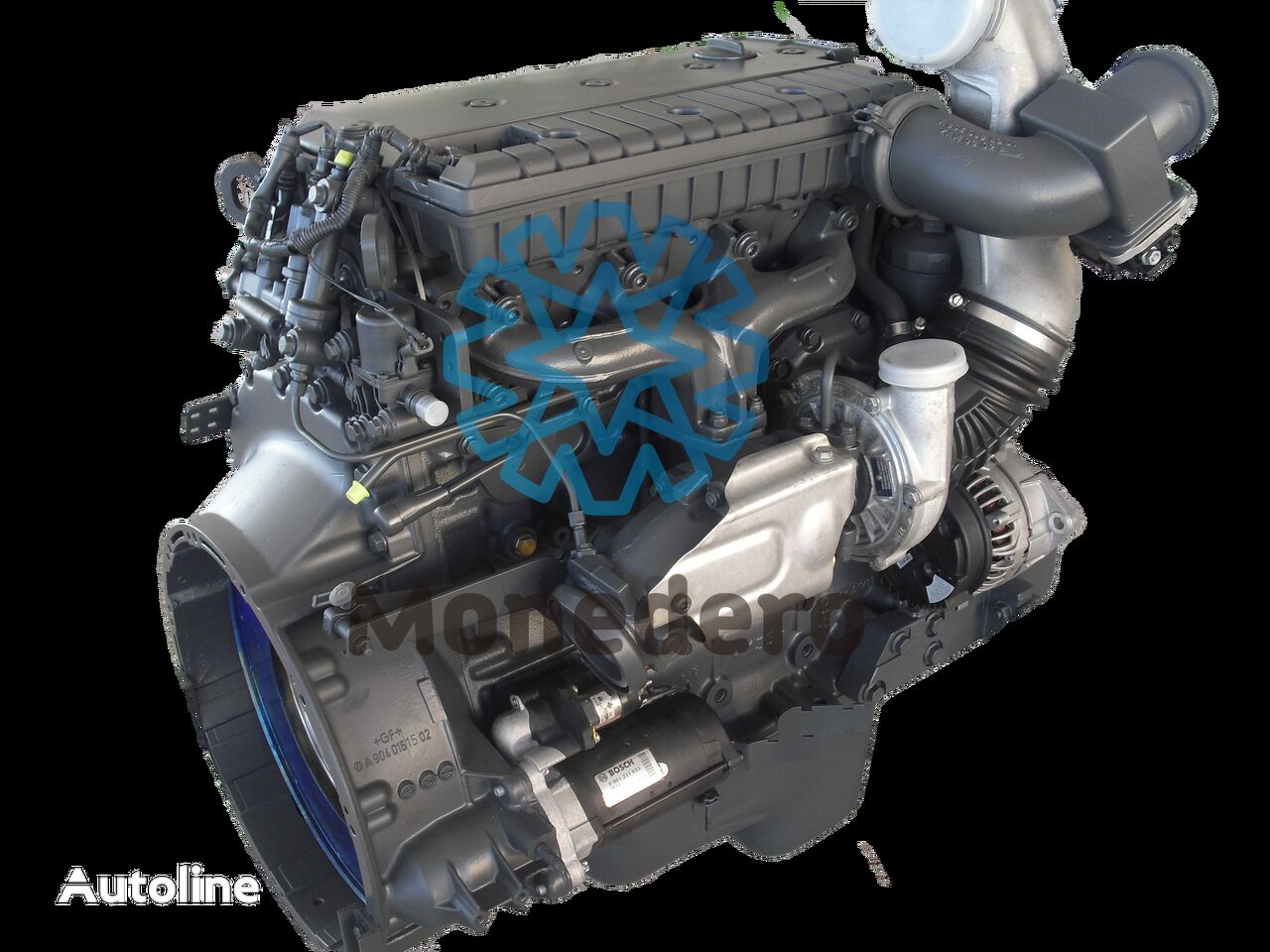 motor para MERCEDES-BENZ OM 904LA / 924LA camión