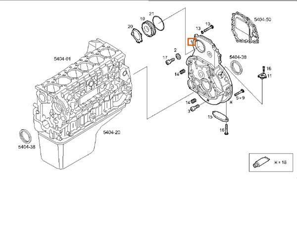 Campana Motor Iveco Stralis AS 440S48 (500324441) motor para IVECO Stralis AS 440S48 camión