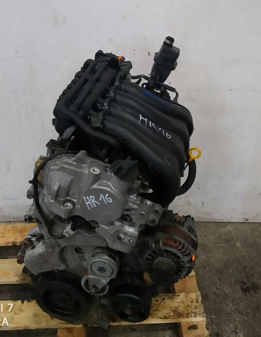 NISSAN QASHQAI 1.6 16V HR16 motor para NISSAN NISSAN QASHQAI 1.6 16V HR16 coche