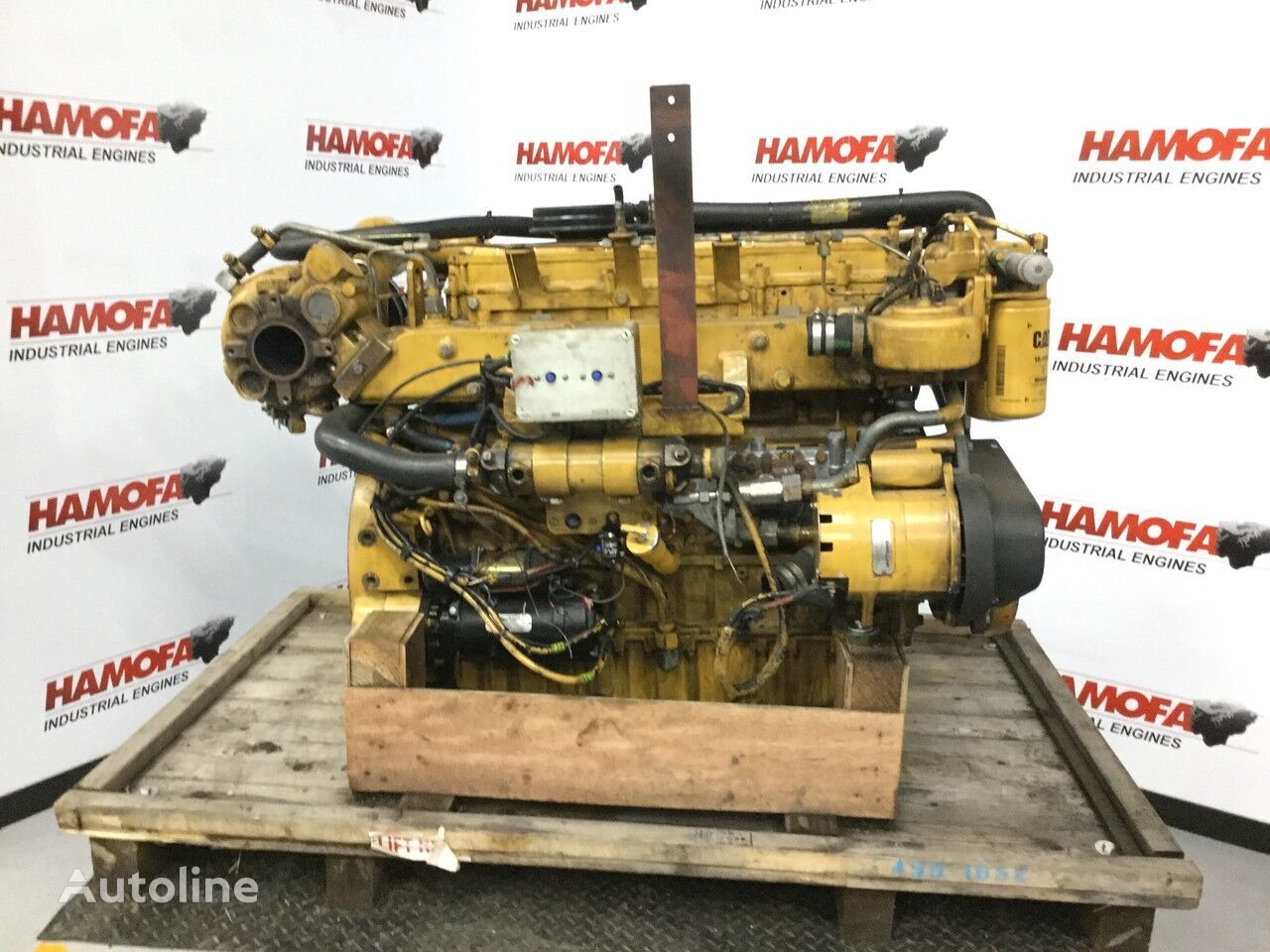 CATERPILLAR 3126B MARINE USED motor para transporte de agua
