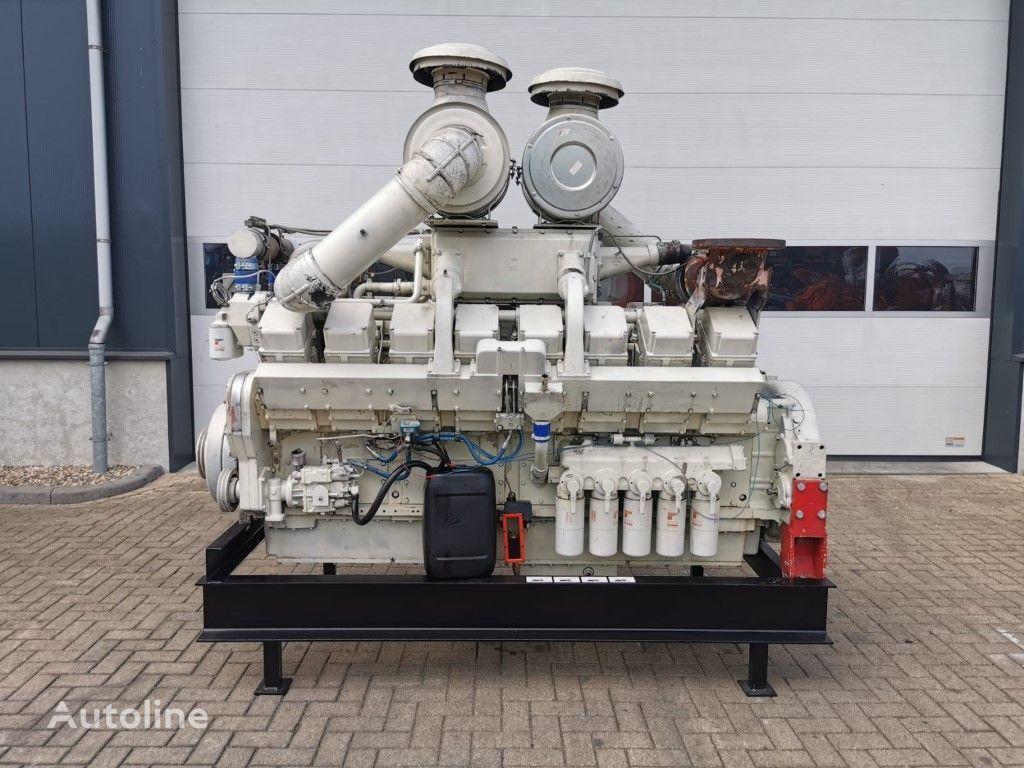 CUMMINS KTA 50 M 1250 PK Marine Diesel Engine as New ! Completely overha motor para transporte de agua