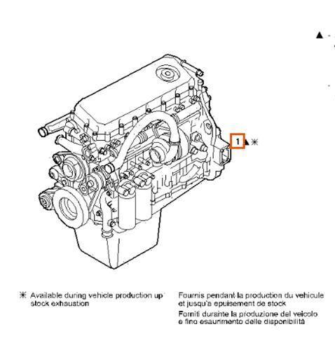 Despiece Motor Iveco Stralis AS 440S48 (504076292) motor para IVECO Stralis AS 440S48 camión