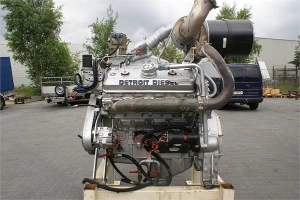 Detroit 8V92TA motor para Detroit 8V92TA otros maquinaria de construcción