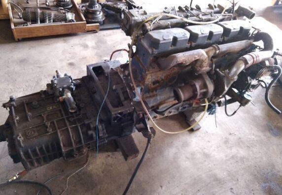 MAN (D0826LFL03) motor para MAN tractora