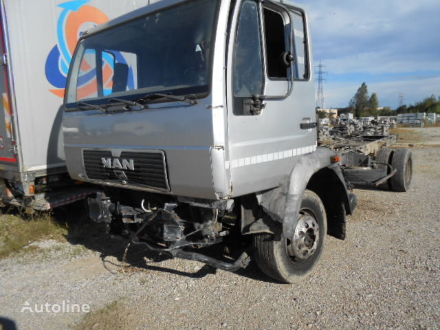 MAN 14.163 EURO 2 B.J. 1998 KM 400000 motor para MAN 163 camión