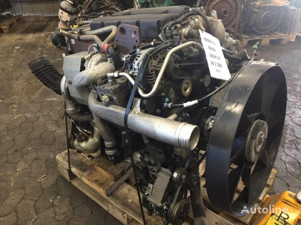 MAN D0834 LF68 220 HP EURO 6 motor para MAN TGL tractora