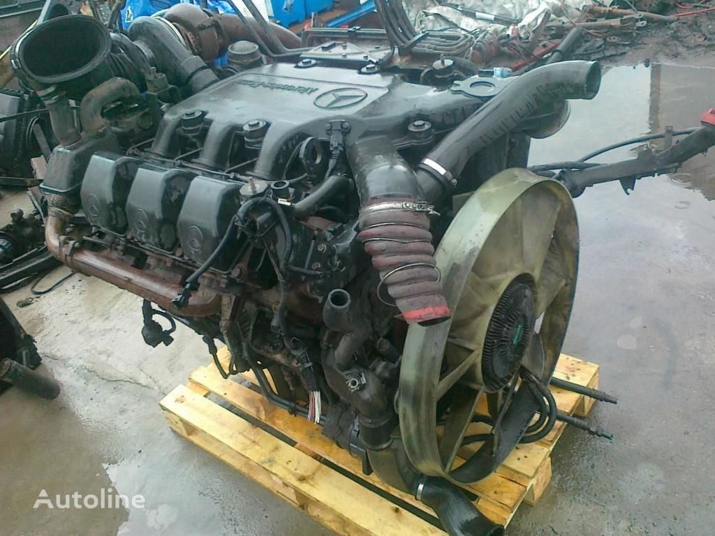 motor para MERCEDES-BENZ OM 501 LA V6 glowica blok pompa camión