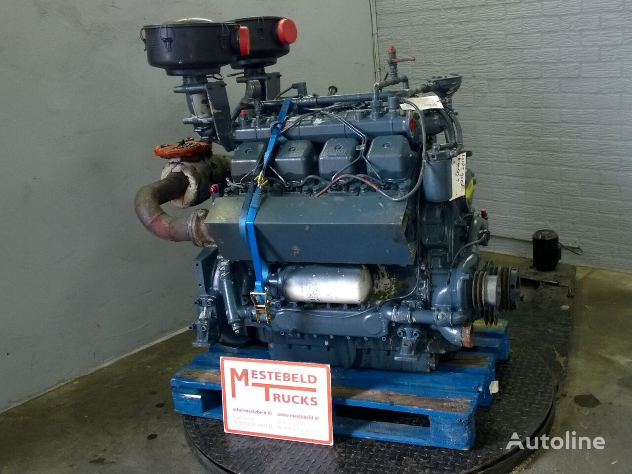 MWM D234 V8 motor para Motor MWM D234 V8 tractora
