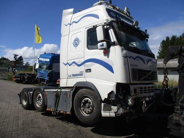 VOLVO D13A / 480 HP - EBR-VEB - EM-EC01 /  EURO 3 motor para VOLVO  FH13  tractora