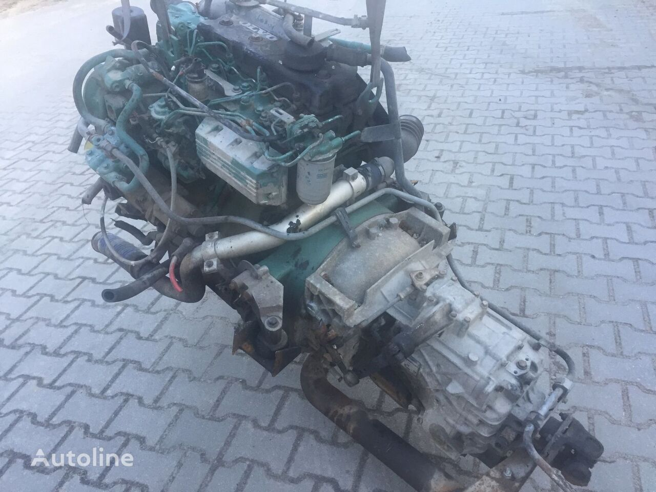 VOLVO FLC FL D4A motor para VOLVO camión