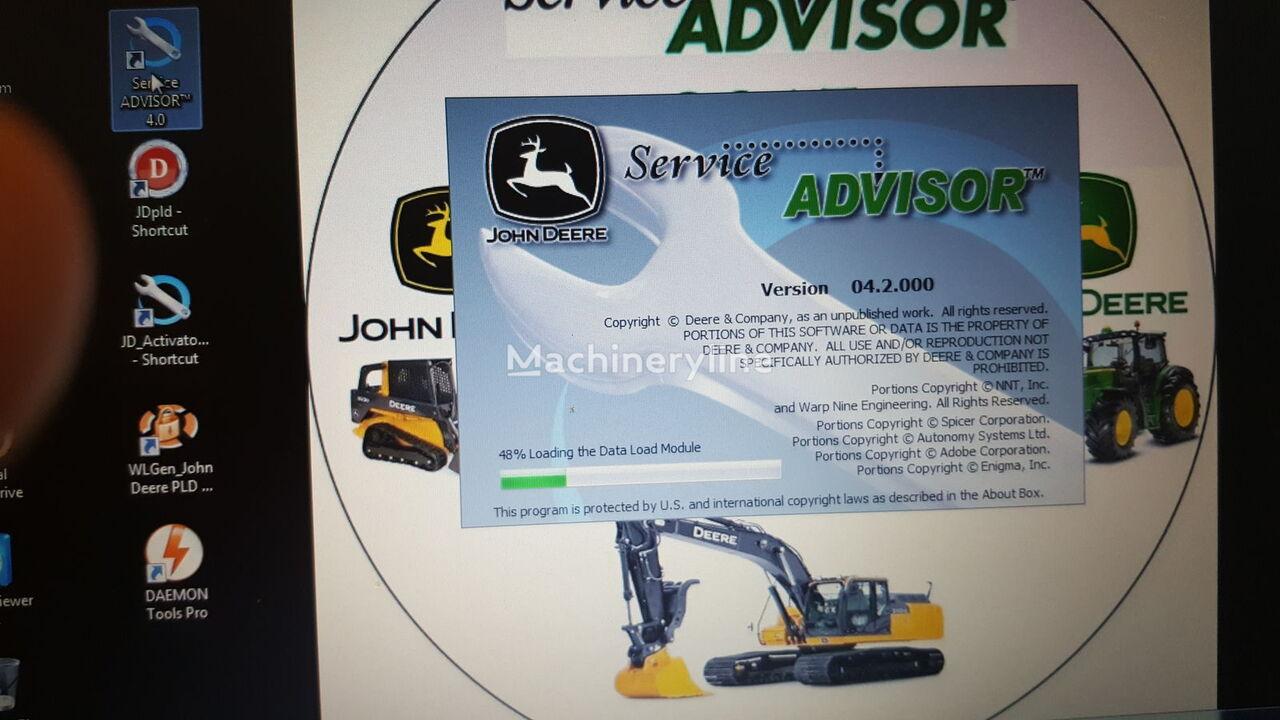 JOHN DEERE COMPLETE DIAGNOSTIC SOFTWARES LAPTOP SYSTEM { READ DESCRIPTION P ordenador de abordo para JOHN DEERE otra maquinaria de construcción nuevo
