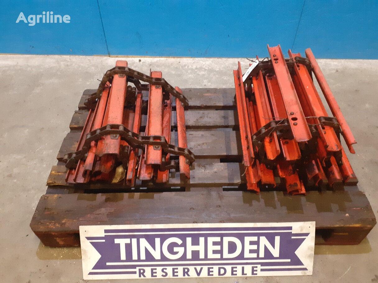 oruga de acero para MASSEY FERGUSON 525 ensiladora arrastrada