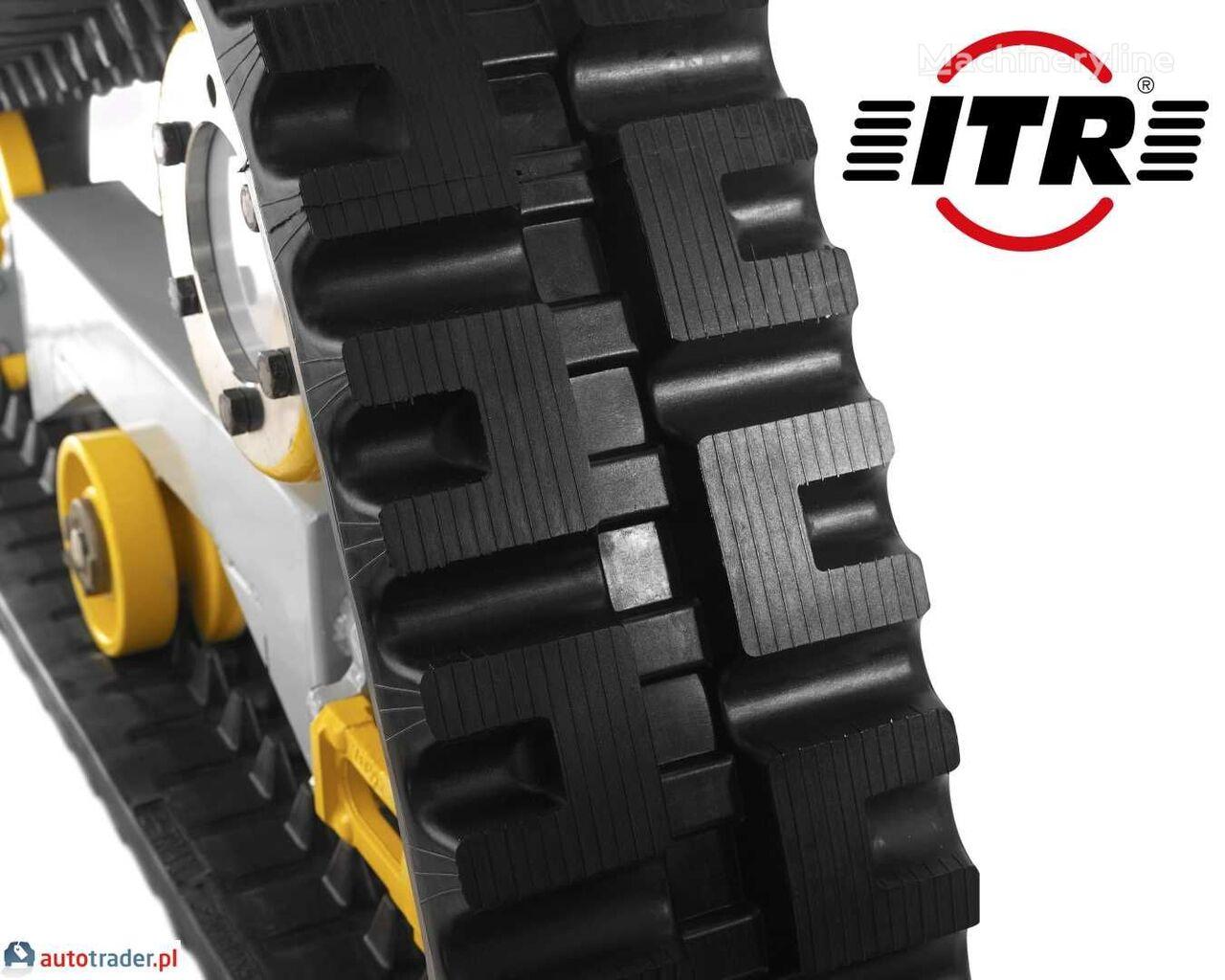 oruga de caucho para ITR PEL JOB LS406 2016r ITR mini excavadora