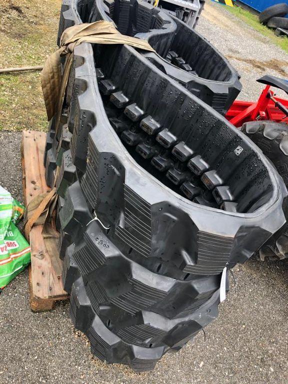 oruga de goma para tractor de cadenas nueva