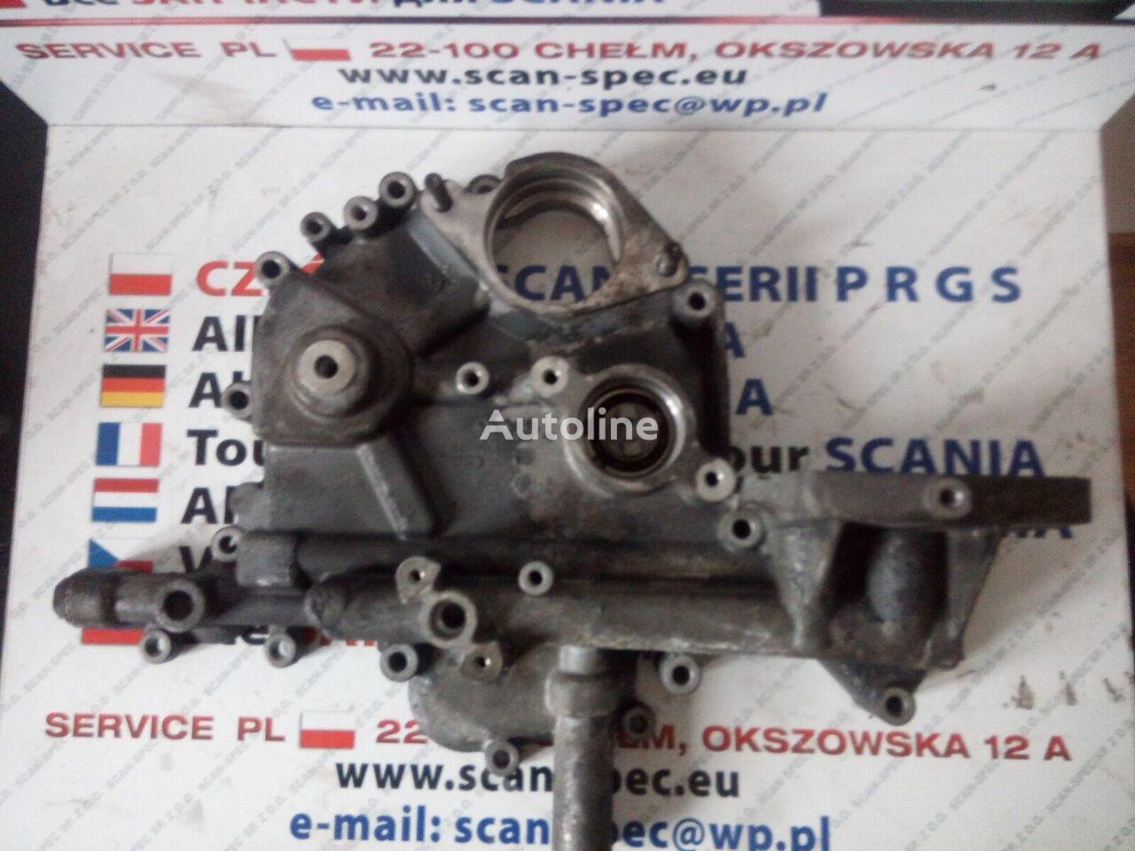 Pokrywa rozrządu V8 SCANIA DC 16 (1498204) otra pieza del motor para SCANIA Serie 4 R tractora
