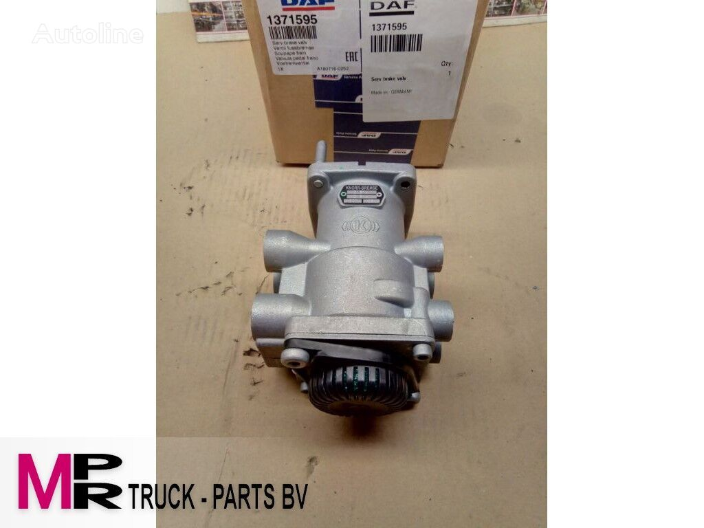 DAF VOETREM VENTIEL 1371595 KNORR DX61A otra pieza del sistema de frenado para Daf CF/XF camión