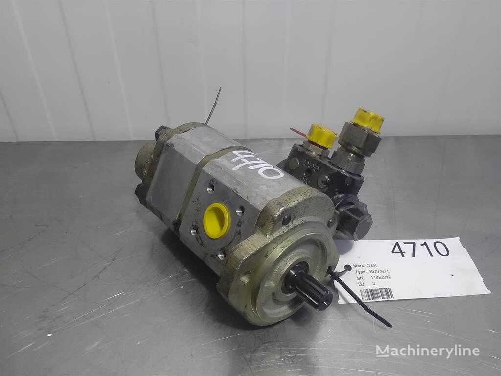 O&K 11982092 - Gearpump/Zahnradpumpe/Tandwielpomp otra pieza del sistema hidráulico para otra maquinaria de construcción