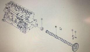 wałek podajnika zbożowego CLAAS (00 1146 477 0) otras piezas de funcionamiento para CLAAS  Arion 640 60 cosechadora de cereales