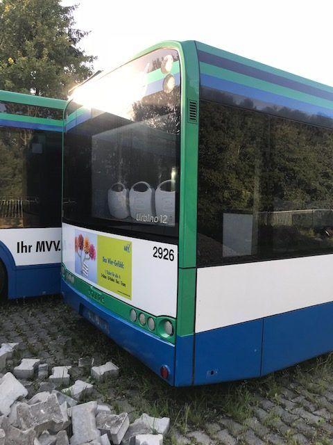 paragolpes para TEMSA avenue autobús