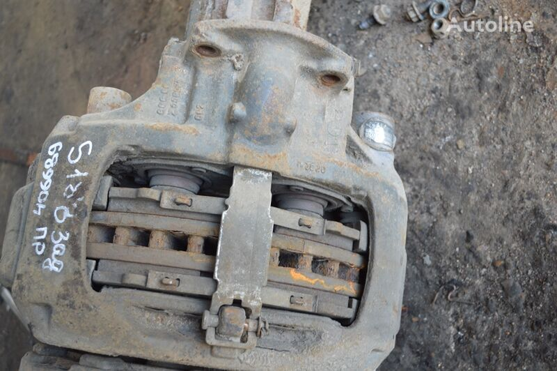KNORR-BREMSE vedushchego mosta (K031427) pinza de freno para SCANIA 4-series 94/114/124/144/164 (1995-2004) camión