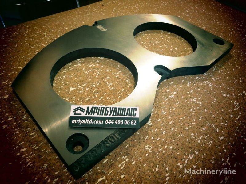 CIFA 227300 ochkovaya plita (shibernaya plita) na betononasos Italiya placa de gafas para CIFA bomba de hormigón nueva