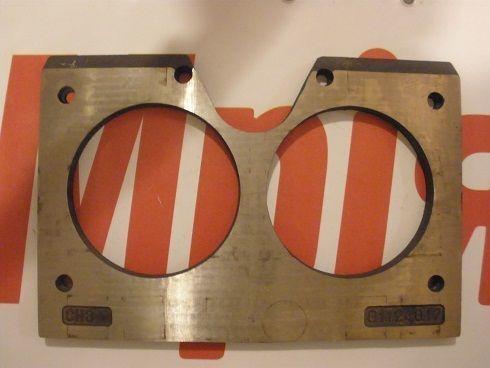 Iznosostoykie (plity treniya) MECBO placa de gafas para bomba de hormigón