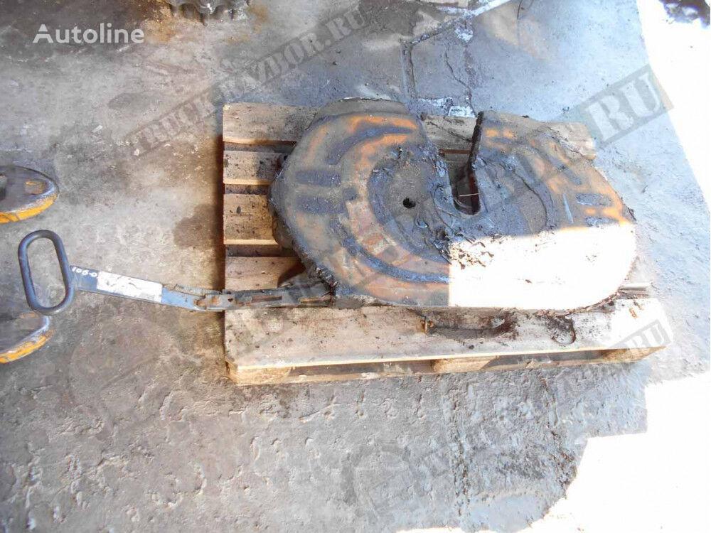 DAF sedlo, 150mm (1630249) quinta rueda para DAF tractora