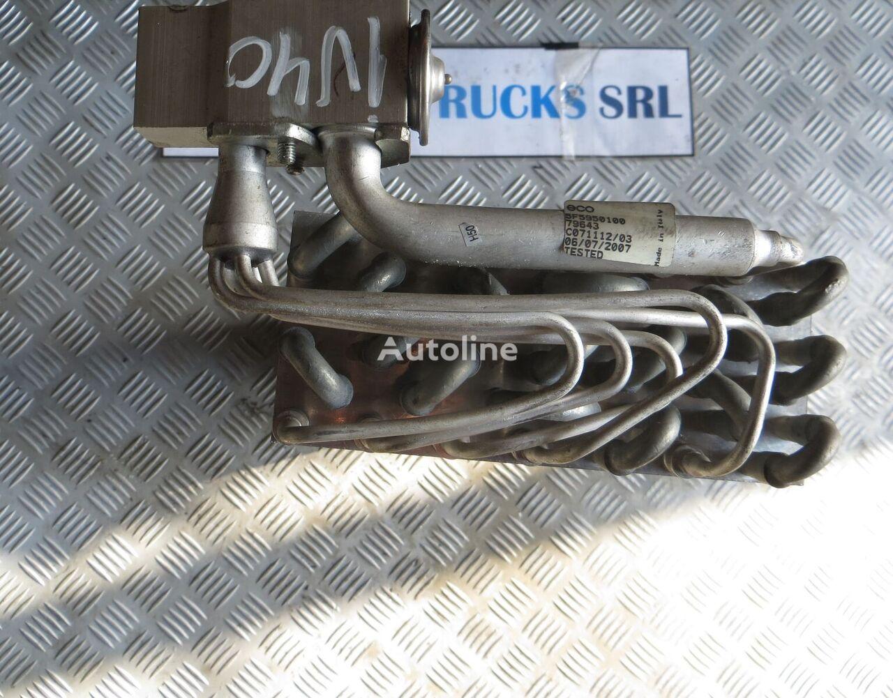 Radiator clima bord (SF5950100 D/124) radiador de aire acondicionado para IVECO Stralis tractora