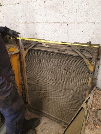 radiador de refrigeración del motor para FIAT FL14E  cargadora de cadenas