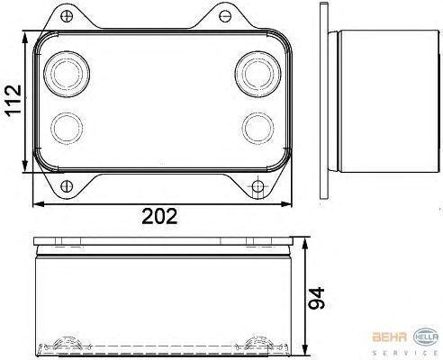 DAF 1667565.8MO376733421 radiador de refrigeración del motor para DAF XF.CF tractora nuevo