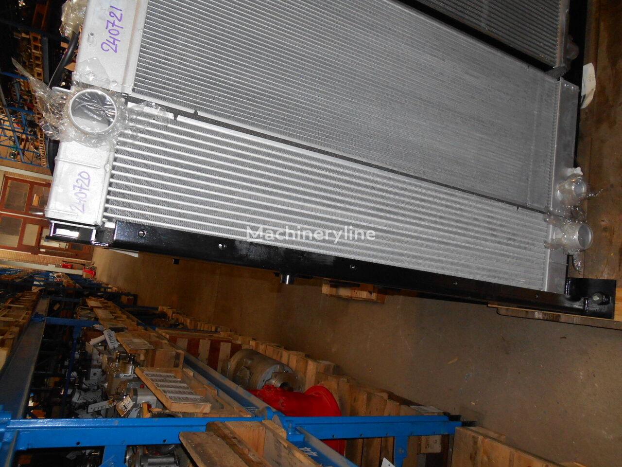 radiador de refrigeración del motor KOBELCO T.Rad 1456-112-8010 para excavadora KOBELCO SK350