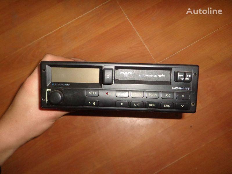 MAN Blaupunkt 2446RDS radio del coche para MAN camión