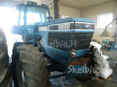spare parts /b/u zapchasti FORD recambios para FORD 8830 tractor