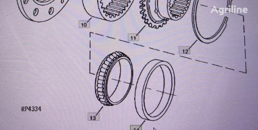 pierścień zewnętrzny JOHN DEERE JD9115 recambios para JOHN DEERE  4555/4755/4955 tractor