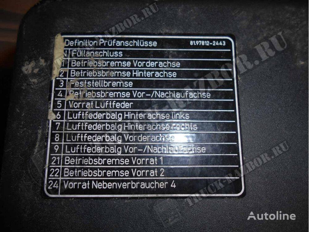 kryshka AKB MAN (81978122443) recambios para MAN tractora