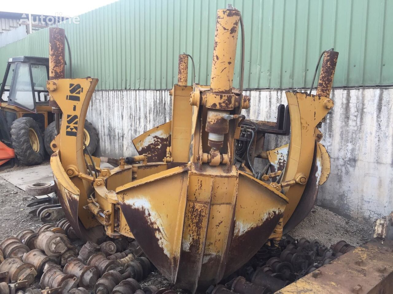 USED DIAMETER INTERNAL 2 METERS HYDRAULIC TREE REMOVAL EQUIPMENT recambios para grúa autocargante