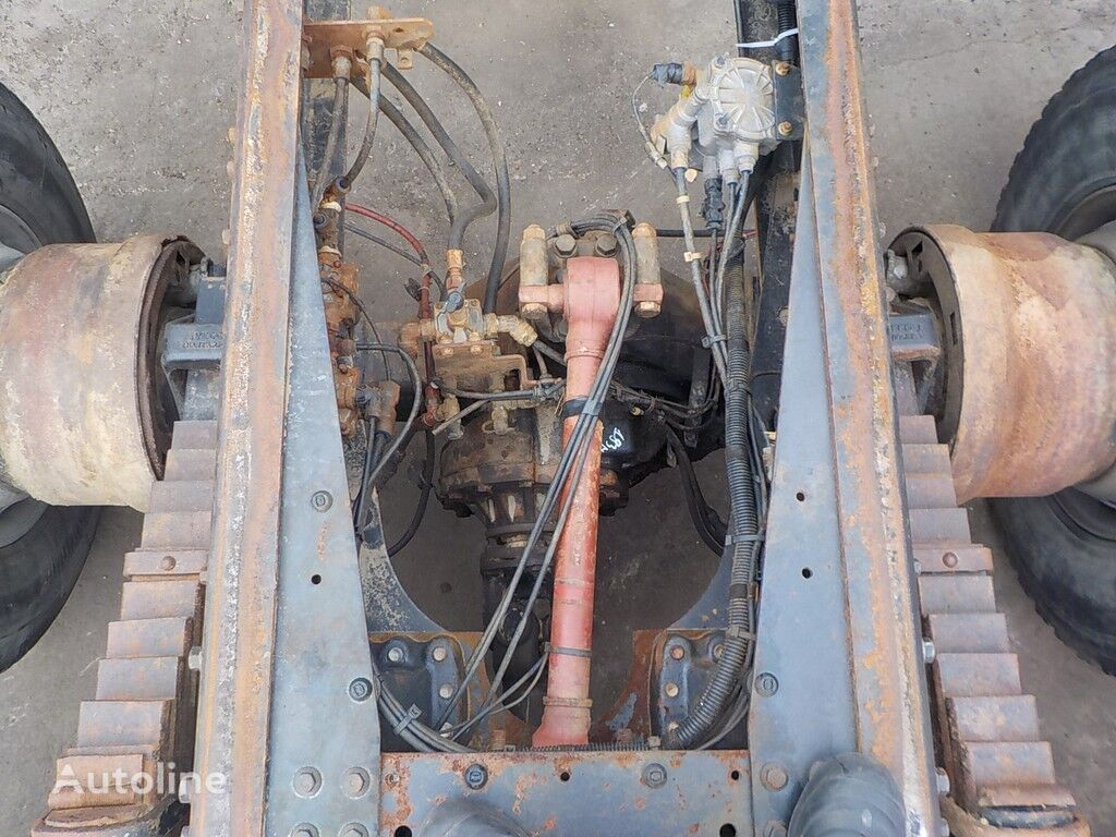 IVECO zadnego mosta Eurotrakker-Cursor R=1:1,565 Z=23/36 reductor para IVECO camión