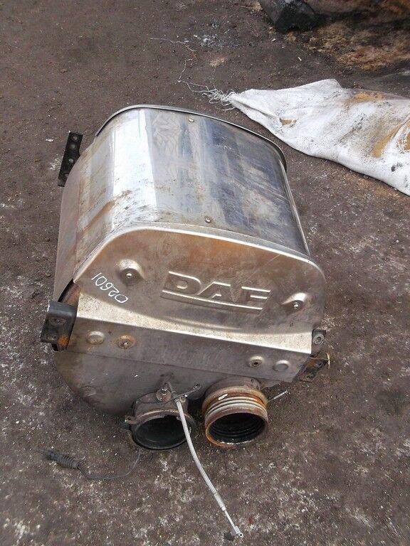silenciador para DAF camión