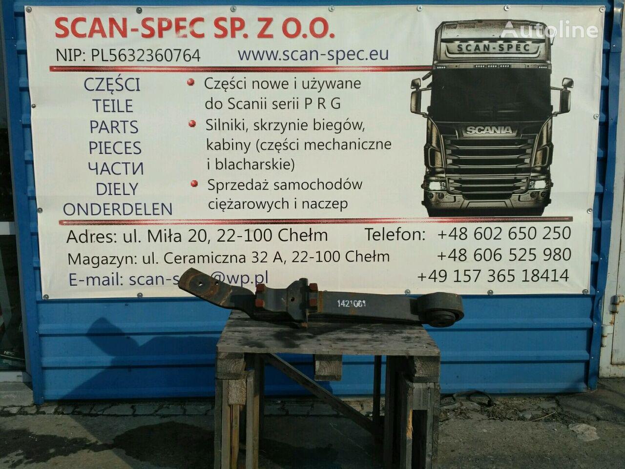 SCANIA Prawa Strona LH (1421061) suspensión de ballesta para SCANIA P R G T tractora