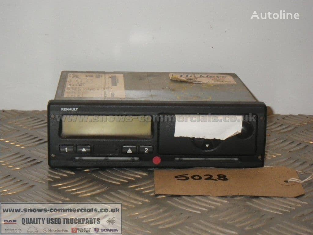 RENAULT Tachograph (7420878245) tacógrafo para camión