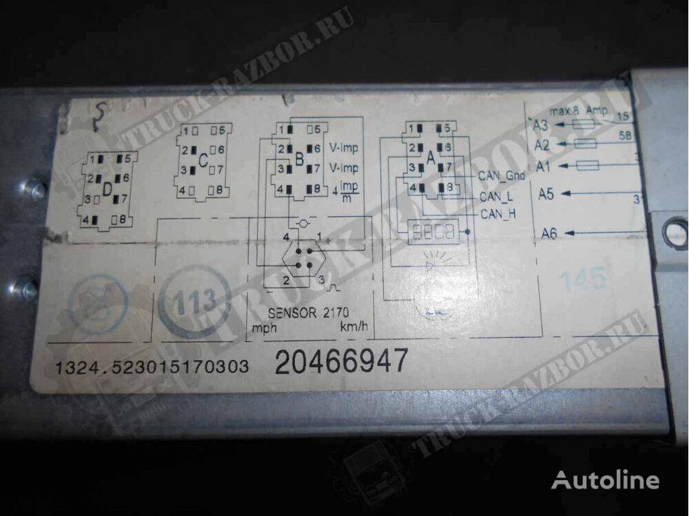 VOLVO (20466947) tacógrafo para VOLVO tractora