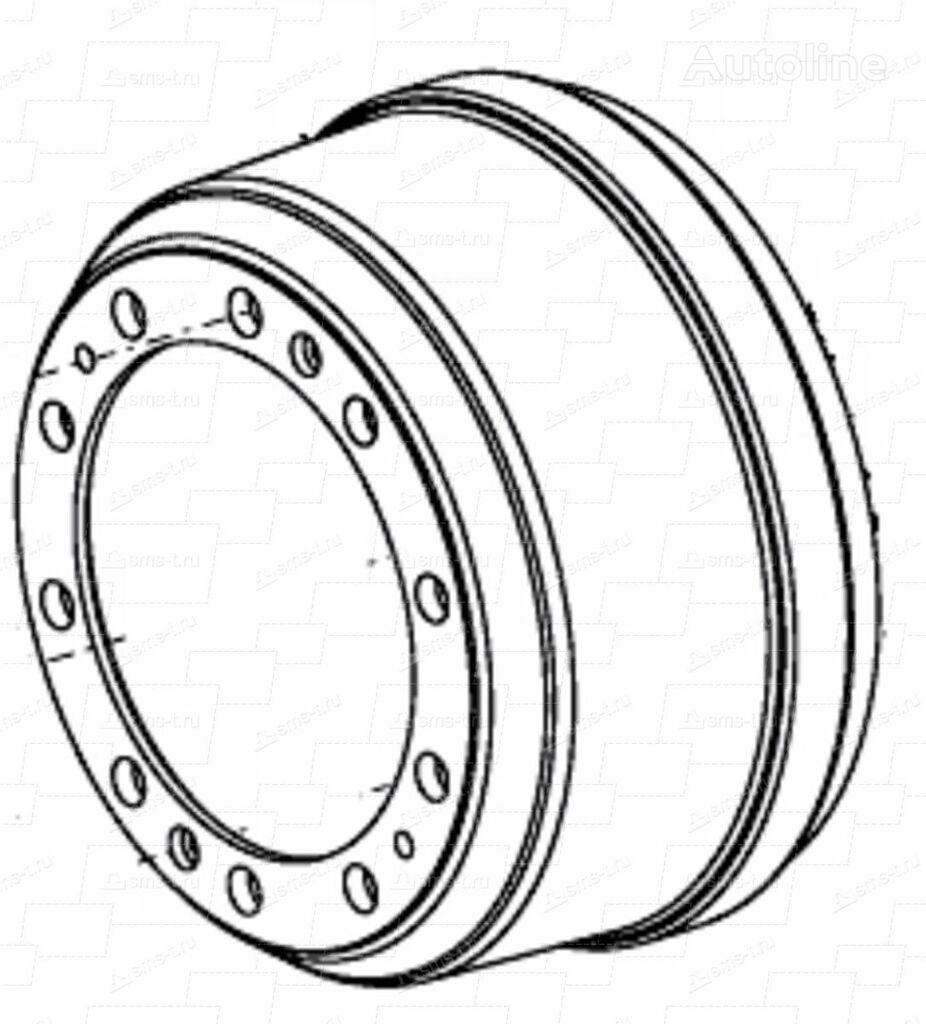 SMB MERITOR R19 tambor de freno para semirremolque