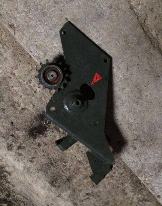 tensor de correa para CLAAS Lexion tractor