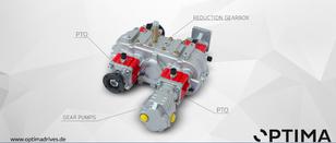 OPTIMA toma de fuerza para MERCEDES-BENZ Volvo, Scania camión nueva