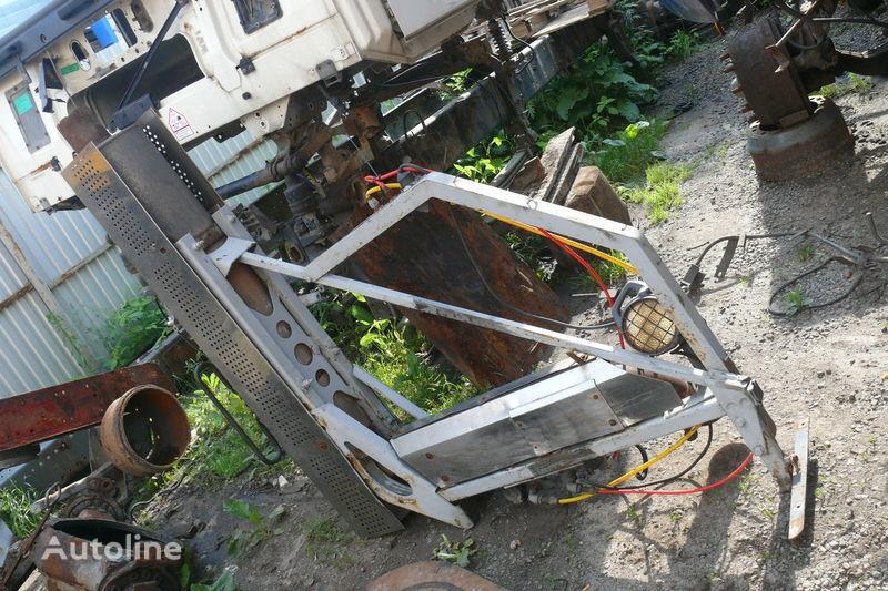 Sistema gazovyvoda tubo de escape para DAF XF,CF tractora