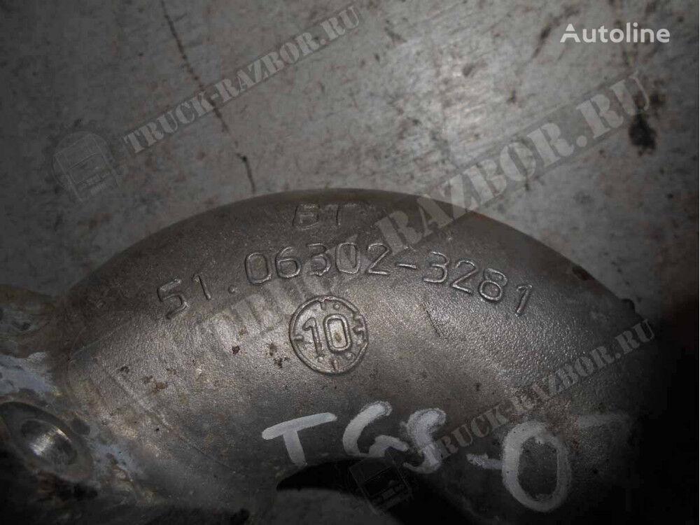 vodyanoy (51063023281) tubo de refrigeración para MAN tractora