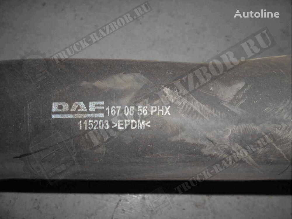 DAF radiatora (1670856) tubo de refrigeración para DAF tractora