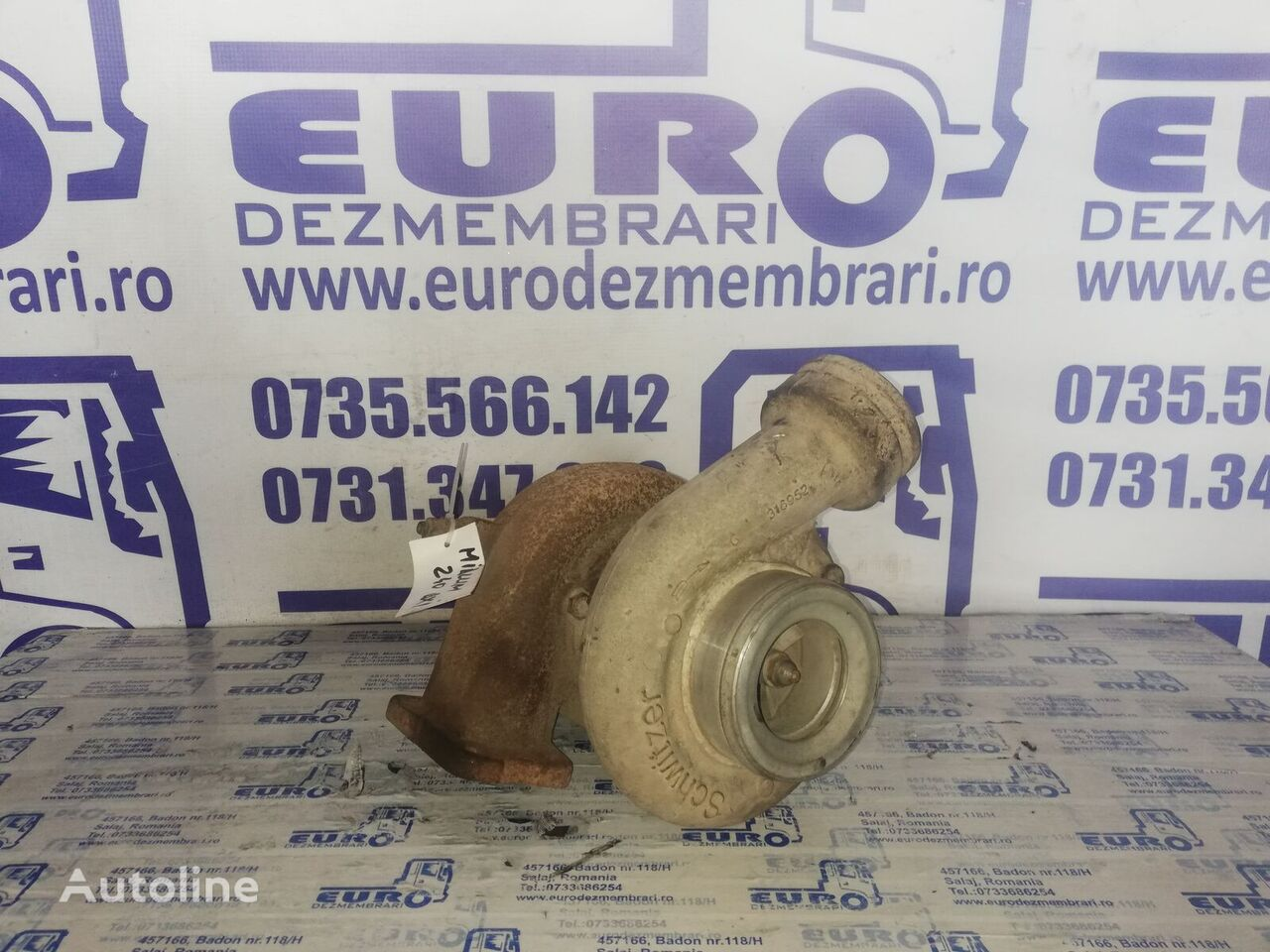 RENAULT MIDLUM 240DXI turbocompresor para motor para tractora